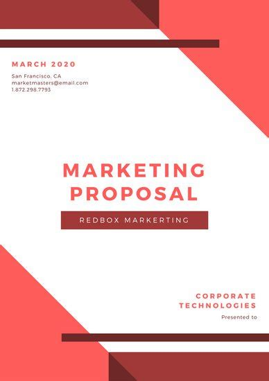 canva proposal customize 111 marketing proposal templates online canva