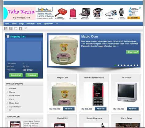 template toko online wordpress terbaik 10 template blog toko online terbaik contoh blog