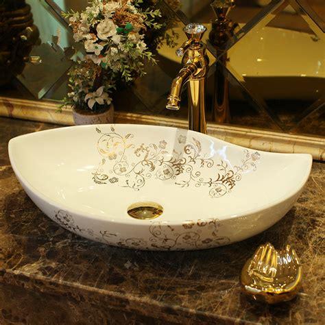 oval china handmade lavabo washbasin wash basin