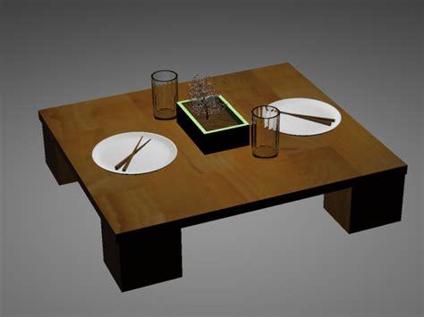 japanese dinner table japanese dinner table 3d by anthonyob on deviantart