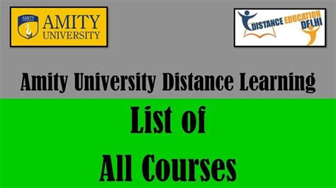 Amity Fee Structure For Mba Distance Learning by 45 Best Distanceeducationdelhivideos Images On