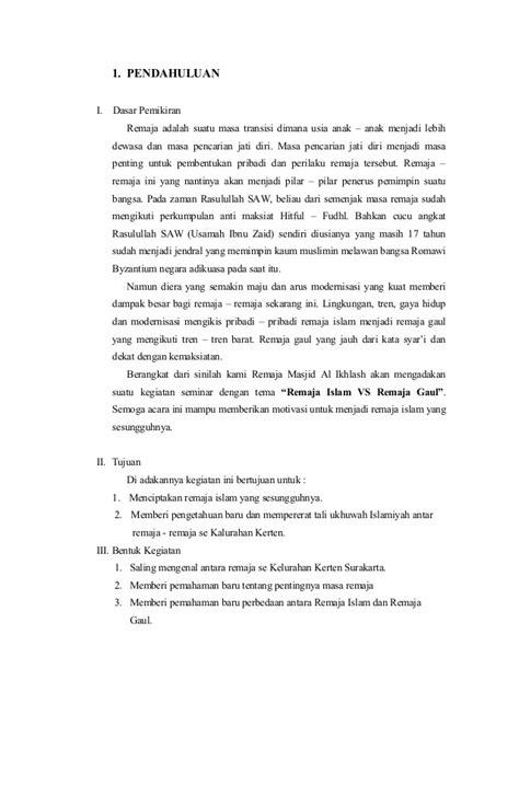 contoh layout seminar contoh proposal seminar remaja