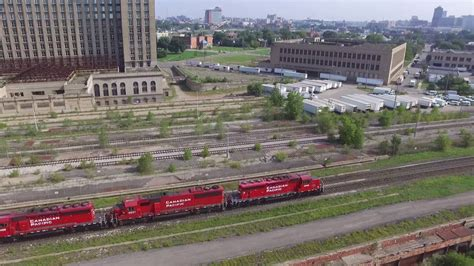 Central Michigan Mba Vdo by Michigan Central Station With Drone