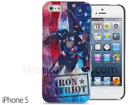 Softcase Iphone 5 5s Marvel Series iphone 5 5s marvel iron patriot protective back