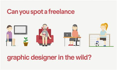 can you spot a freelance graphic designer in the