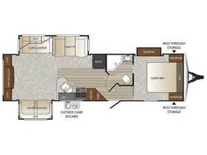 keystone outback floor plans 2016 keystone outback 298re floor plan travel trailer