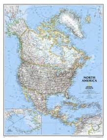 map of countries of america america