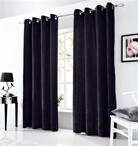 red grey and black curtains velvet eyelet curtains lined ringtop curtain pairs grey
