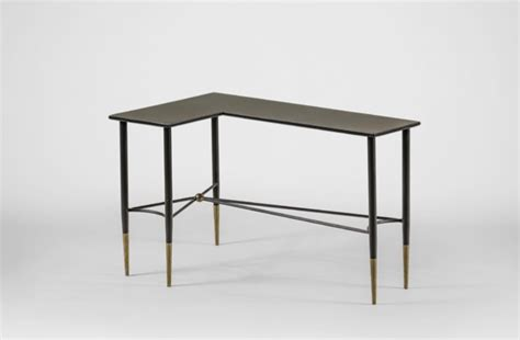 wrap around sofa table collier wrap around table black and gold sofa table gabby