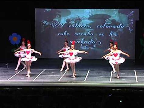 en el pais de las maravillas tema musical festival de danza rosa founaud 2012 coda de baila