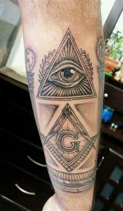 free mason tattoo some cool masonic tattoos masonic tattoos