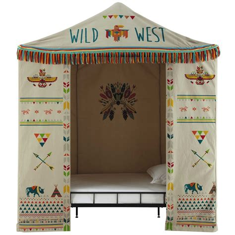 Beautiful Deco Salon Bord De Mer  #7: Tente-enfant-en-coton-multicolore-100-x-200-cm-farwest-1000-12-16-151142_1.jpg
