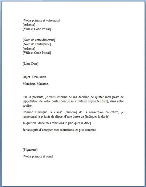 Exemple De Lettre De Dã Mission ã Tudiant Demande D Emploi Lettre Type Gratuite Employment Application