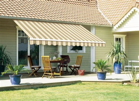Retractable Awnings For Decks And Patios Home Improvement Windows Sunrooms More