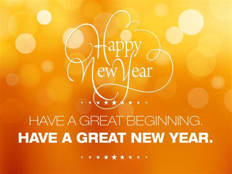 have a great beginning have a great new year 2015 happy