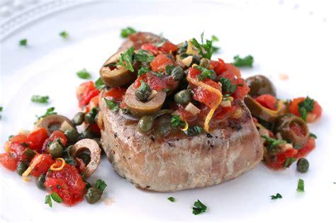 Steak Tuna sicilian style grilled tuna steaks the daring gourmet