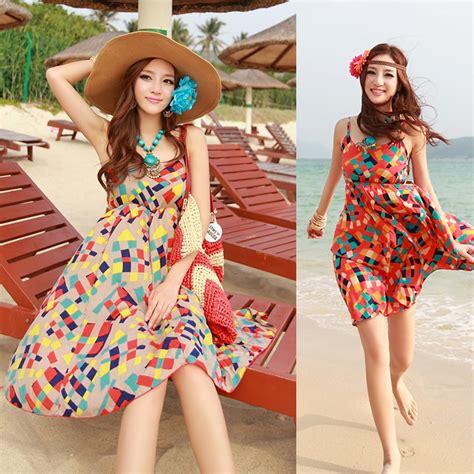 Baju Pantai Wanita Dress Maxi baju dress untuk pesta di pantai yatch