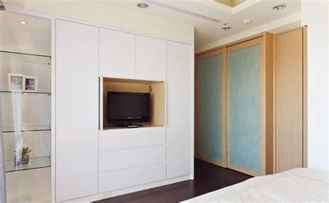 bedroom wardrobe designs with tv unit home combo bedroom wardrobe designs with tv unit