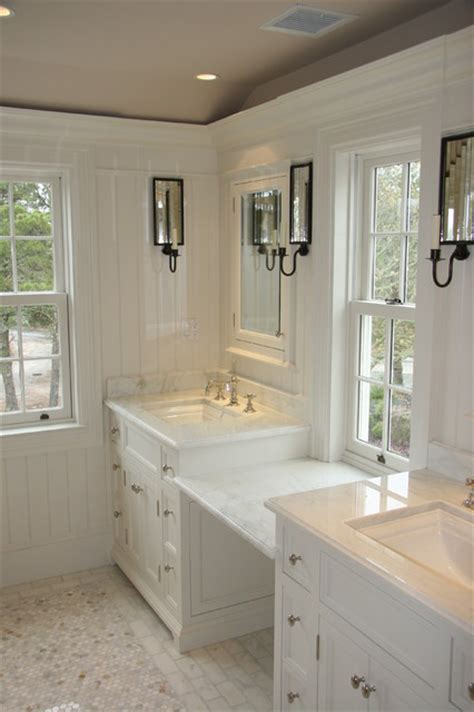 vanities and millwork traditional bathroom boston