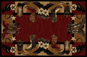 pin western area rugs can fit country style as well modern