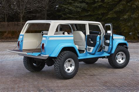 jeep chief concept awesome jeep chief concept leads six others to moab easter