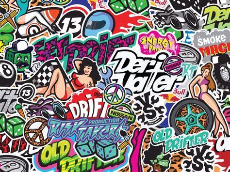 drift graffiti graffiti sticker bomb doodle art