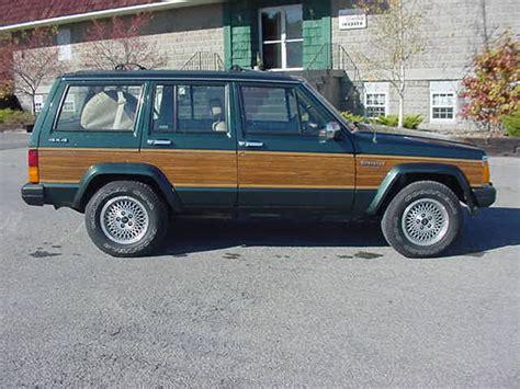 Jeep Xj History Jeep Briarwood 92 г