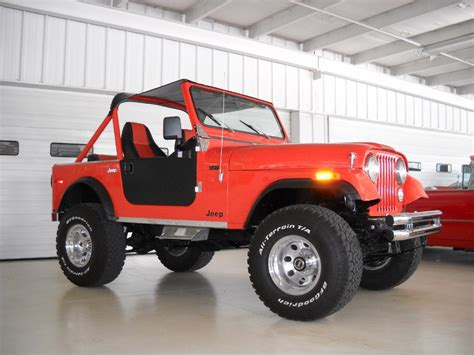 Jeeps For Sale Columbus Ohio 1980 Jeep Cj 7 Stock 028796 For Sale Near Columbus Oh