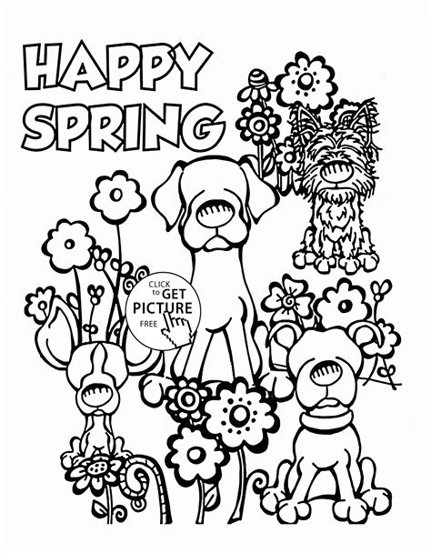 html printable page break best quality printable spring break coloring pages 232x300