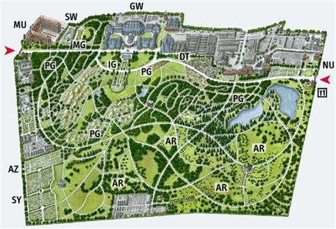 Japaner Zoologischer Garten by Bgbm Gartenplan