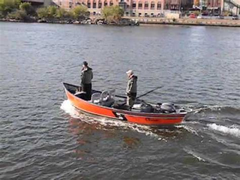 drift boat motor well hyde drift boat w engine well cut out youtube