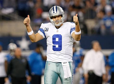 And Tony Romo by Tony Romo On The Cowboys Drafting A Qb 4th Overall Bso