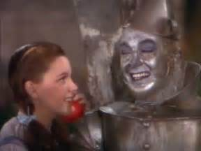 dorothy meets the tinman the wizard of oz 1939 youtube