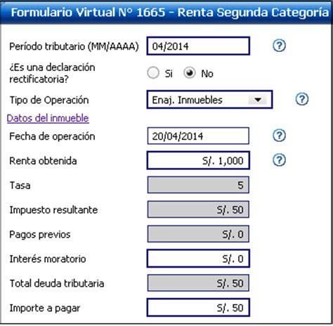 formulario de declaracion de renta de tercera categoria conoce lo esencial sobre el impuesto a la renta de segunda