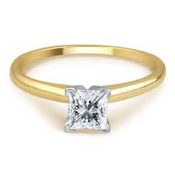 tradition 3 4 cttw certified princess cut 14k