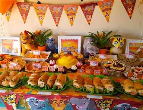 lion king themed birthday party ideas lion guard birthday quot constance s lion king 1st birthday