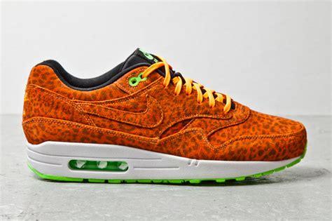 Airmax One Leopard nike air max 1 quot orange leopard quot sneakers addict