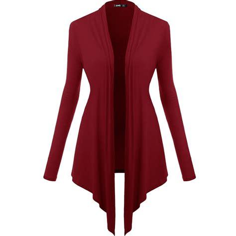 New Kardigan 2016 new waterfall cardigan top sleeve cardigan jumper sweater ebay