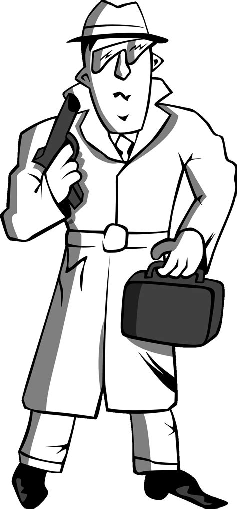 spy coloring pages to download and print for free