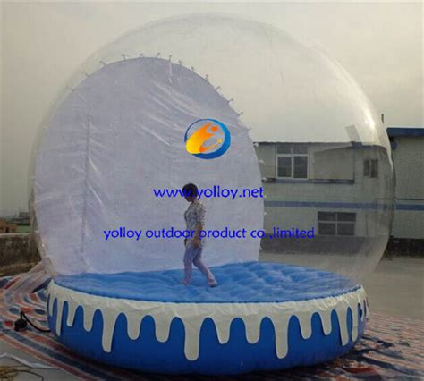 yolloy human size christmas snow globe for sale