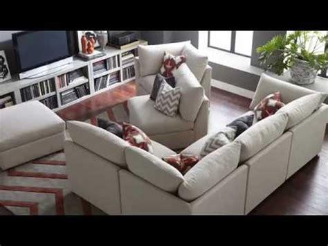 bassett beckham sectional review beckham modular sectionals by bassett furniture youtube