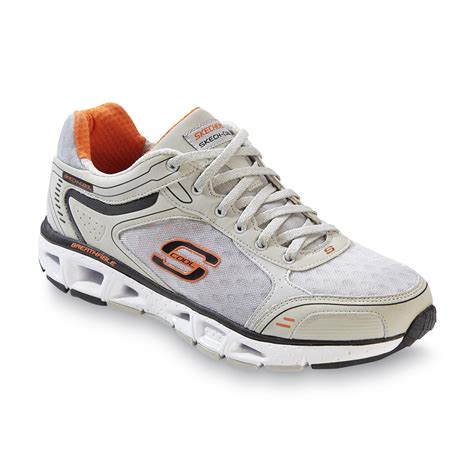 target athletic shoes skechers s target zone gray orange athletic shoe