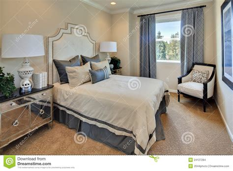 bedrooms com model home master bedroom stock photo image of