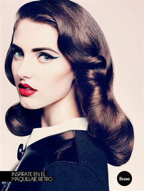 imagenes vintage maquillaje m 225 s de 25 ideas fant 225 sticas sobre maquillaje retro en
