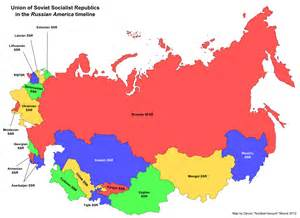 map of the soviet union russian america eurasian