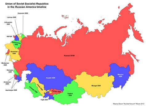nations of the former ussr map quiz map of the soviet union russian america eurasian