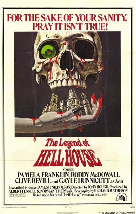 hell house documentary the legend of hell house movie posters from movie poster shop