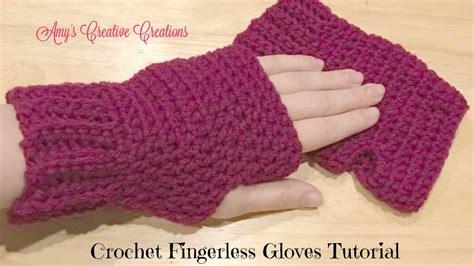 pattern gloves youtube crochet fingerless gloves tutorial crochet jewel youtube