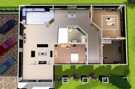 house plans and design modern house plans for sims 3