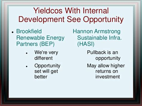 pattern energy group yieldco the status of the yieldco